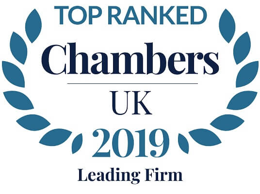 Chambers Leading Firm 2019 Logo
