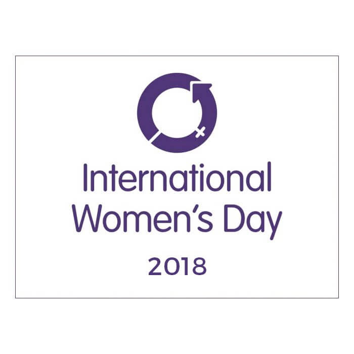International Women's Day 2018 Logo