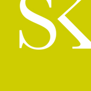 Sk logo on field of green
