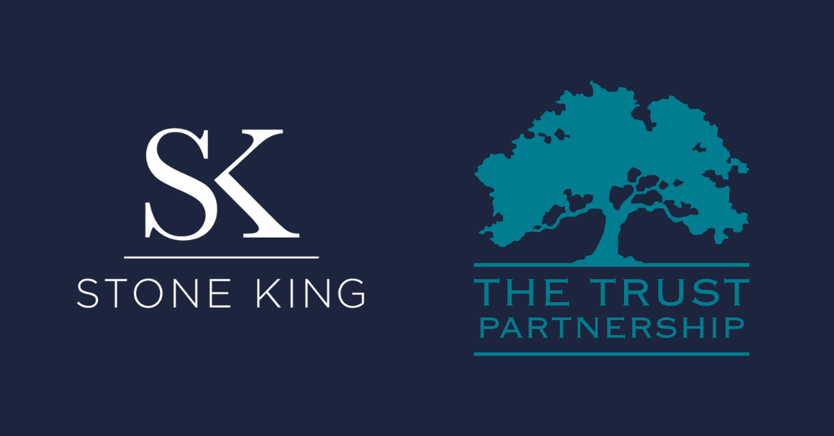 Stone King and The Trust Partnership logos