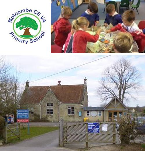 Motcombe Primary School logo